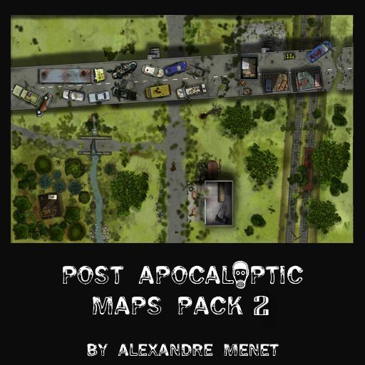 Post Apocalyptic Maps Pack 2