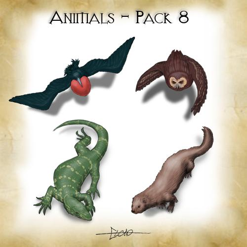 Animals - Pack 8