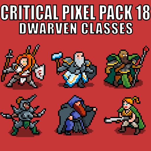 Critical Pixel Pack 18