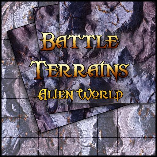 Battle Terrains Alien World