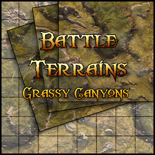Battle Terrains Grassy Canyons