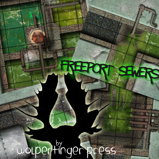 Freeport Sewer Dungeon-On-Demand Map Pack