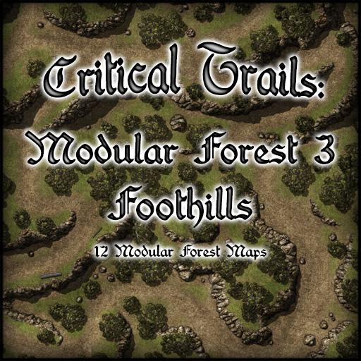 Critical Trails: Modular Forest 3