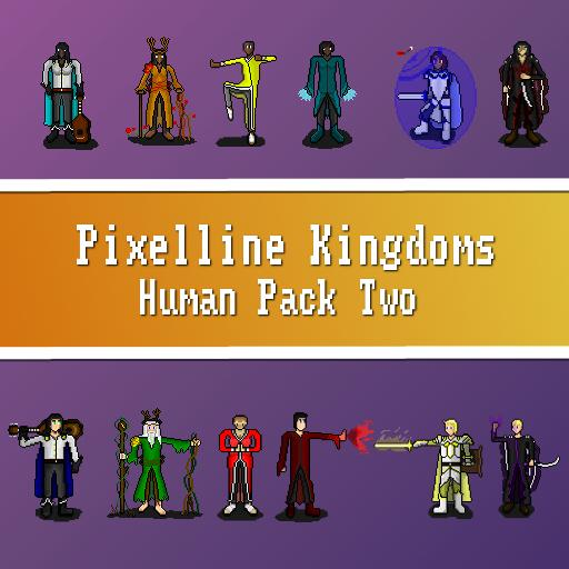 Pixelline Kingdoms - Human Pack Two