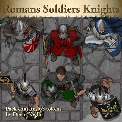 100 - Romans, Soldiers, and Knights
