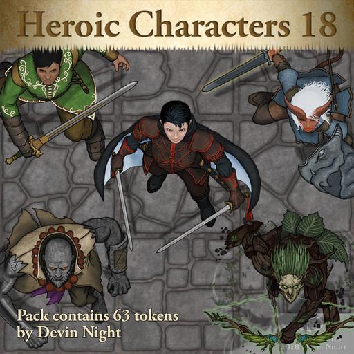101 - Heroic Characters 18