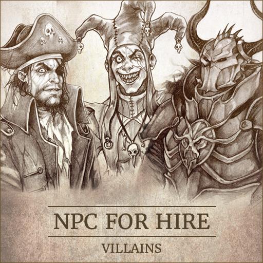 NPC For Hire - Villains