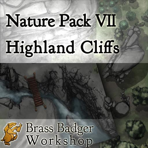 Nature Pack VII - Highland Cliffs
