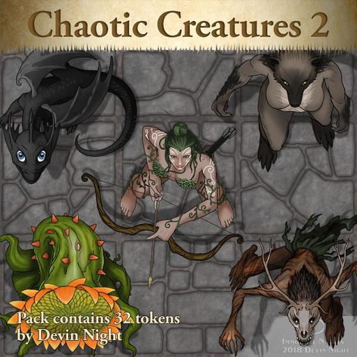 102 - Chaotic Creatures 2
