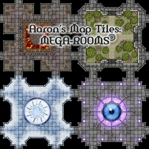 Aaron's Map Tiles: MEGA-ROOMS