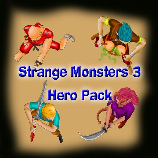 Strange Monsters 3 Hero Pack