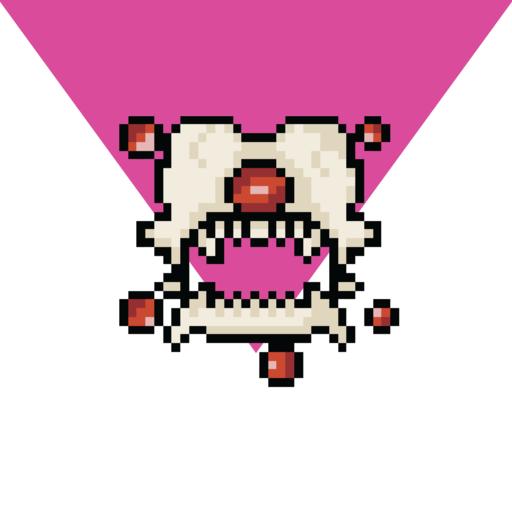 Retro Pixel Cave Creatures