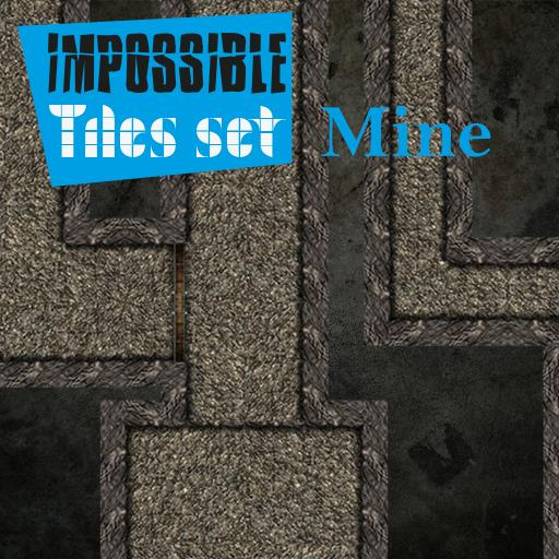 Impossible tiles Set: Mine