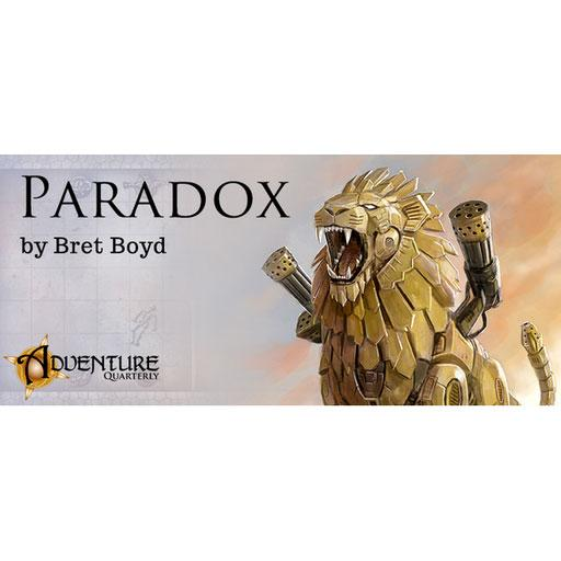 Adventure Quarterly #5: Paradox