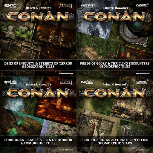 Conan: Tile Set Bundle