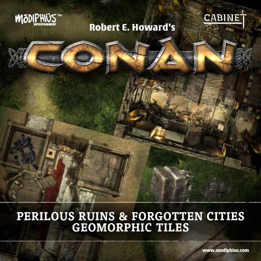 Conan: Perilous Ruins & Forgotten Cities