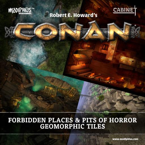 Conan: Forbidden Places & Pits of Horror