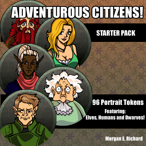 Adventurous Citizens- Token Starter Pack
