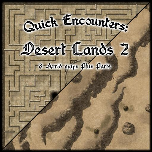 Quick Encounters: Desert Lands 2