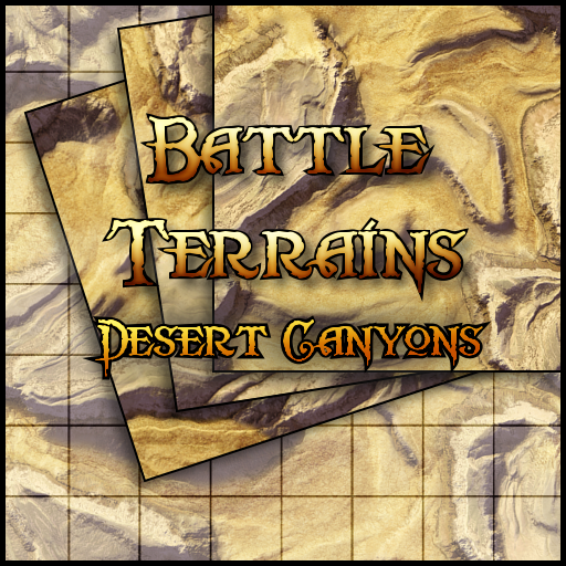 Battle Terrains Desert Canyons