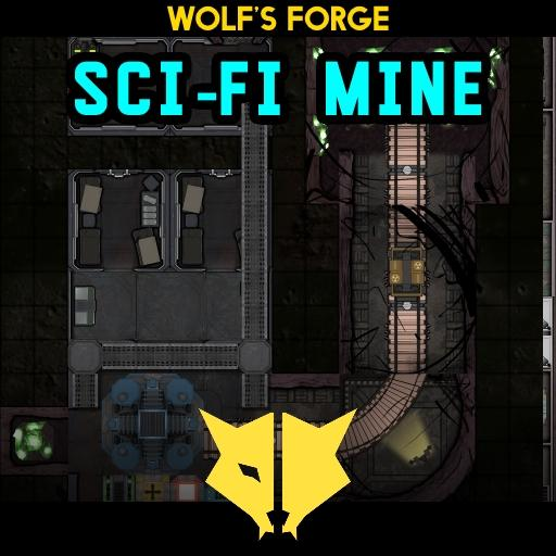 Mine SciFi Dark Base Tiles