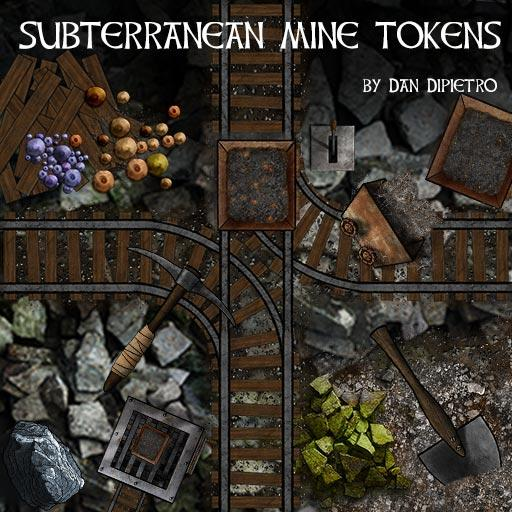 Subterranean Mine Tokens