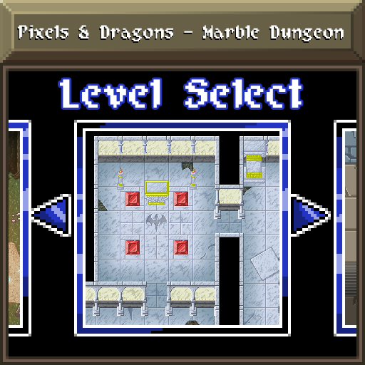 Pixels and Dragons - Marble Dungeon