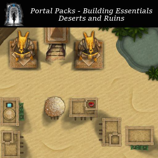 Portal Packs - Building Essentials - Deserts & Ruins