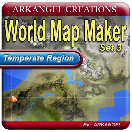 World Map Maker, Set 3: Temperate Region