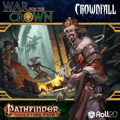 Crownfall (War for the Crown 1)