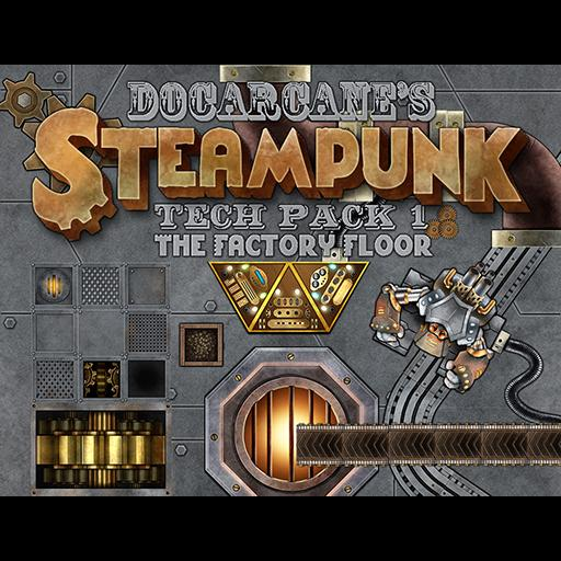 Steampunk Tech Pack