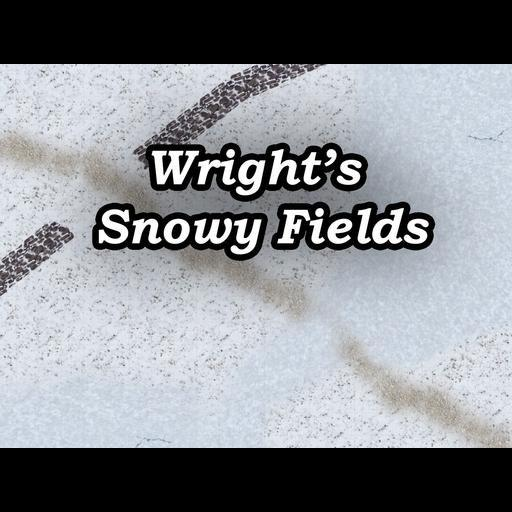 Wright's Snowy Fields