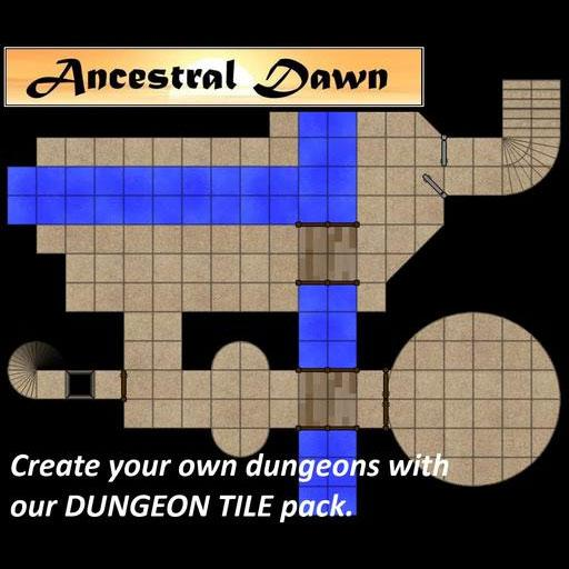 Ancestral Dawn - Dungeon Tiles
