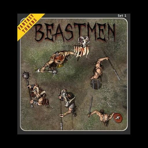 Fantasy Tokens Set 1, Beastmen