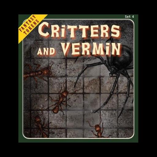 Fantasy Tokens Set 4 Critters and Vermin