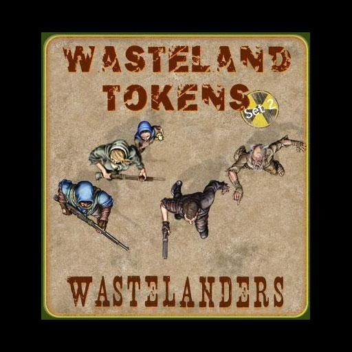 Wasteland Tokens Set 2 Wastelanders