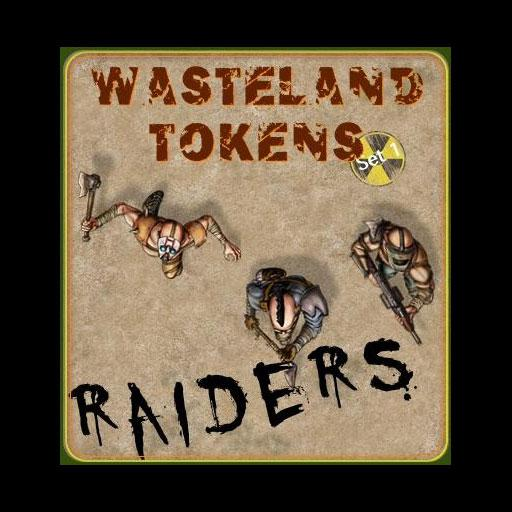 Wasteland Tokens Set 1 Raiders