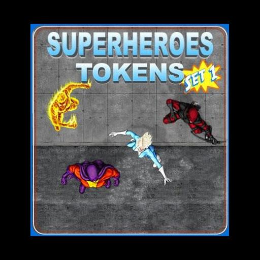Superheroes Set 1
