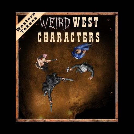 Western Tokens Weird West Characters
