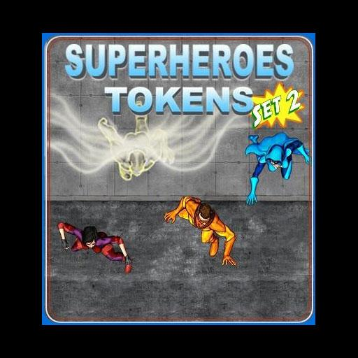 Superheroes Set 2