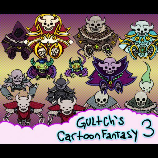 Gultch's Cartoon Fantasy Pack 3