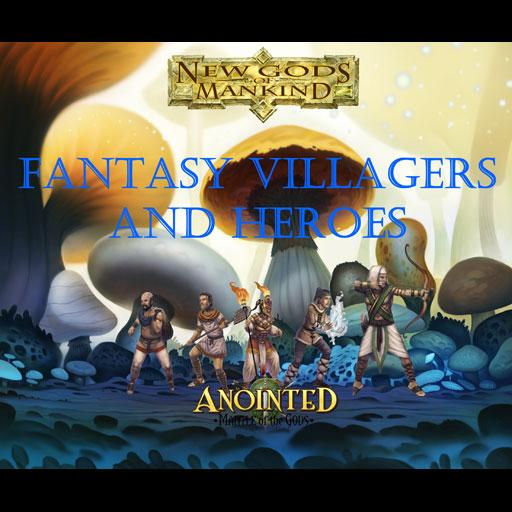 Fantasy Villagers and Heroes