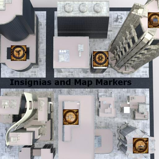 Insignias and Map Markers