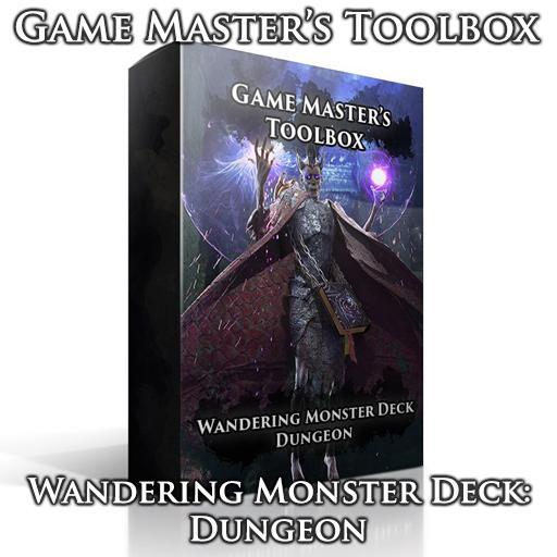 Wandering Monster Deck: Dungeon