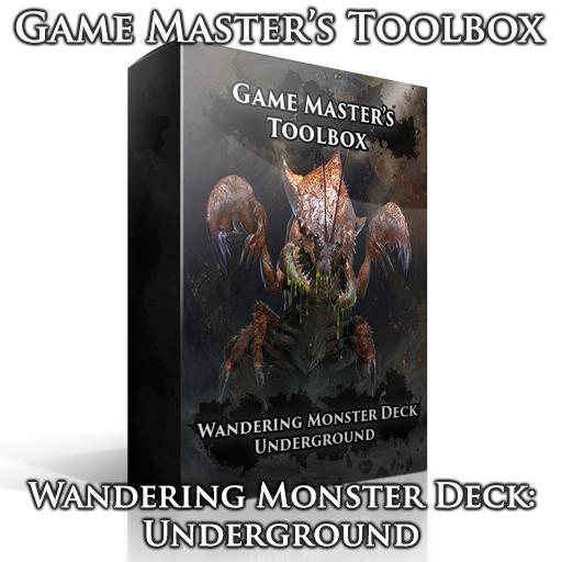 Wandering Monster Deck: Underground