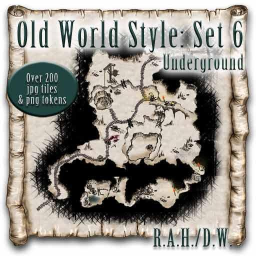 Old World Style: Set 6 - Underground