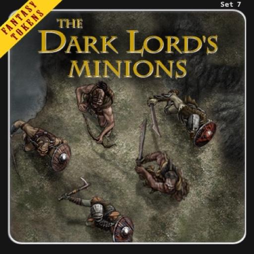Fantasy Tokens Set 7 The Dark Lord's Minions