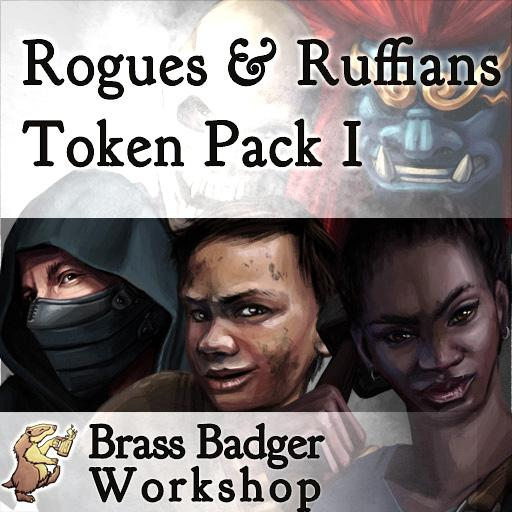 Rogues and Ruffians Token Pack I