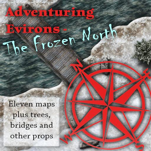 Adventuring Environs - The Frozen North