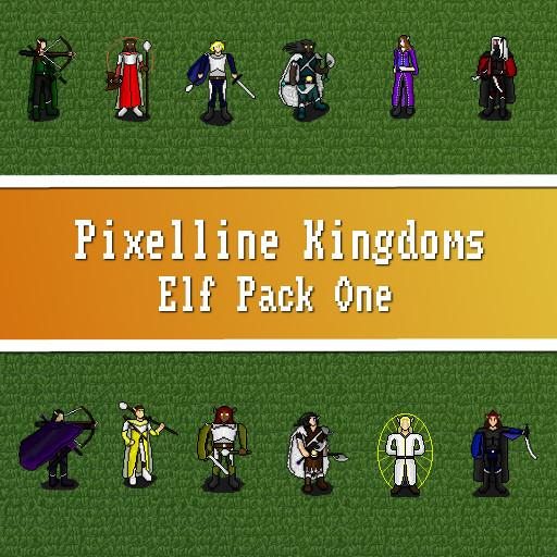 Pixelline Kingdoms - Elf Pack One